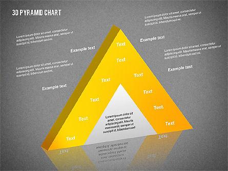 Layered 3D Pyramid, Slide 14, 02203, Business Models — PoweredTemplate.com