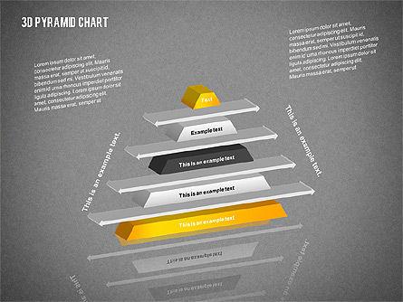 Layered 3D Pyramid, Slide 15, 02203, Business Models — PoweredTemplate.com