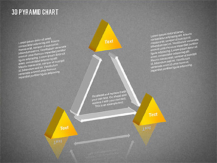 Layered 3D Pyramid, Slide 16, 02203, Business Models — PoweredTemplate.com