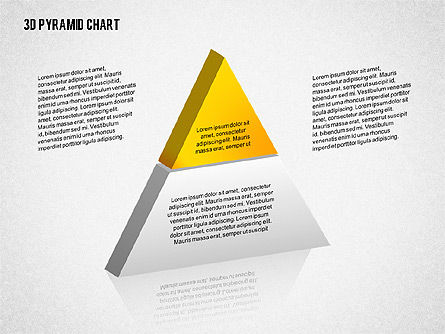 Layered 3D Pyramid, Slide 4, 02203, Business Models — PoweredTemplate.com