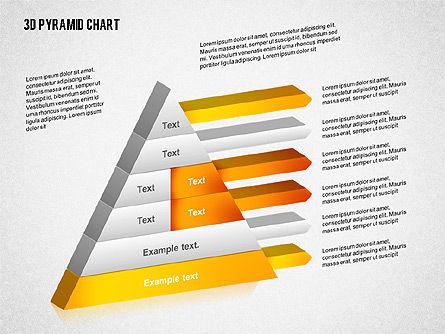Layered 3D Pyramid, Slide 5, 02203, Business Models — PoweredTemplate.com