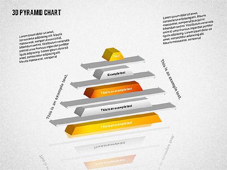 Layered 3D Pyramid, Slide 7, 02203, Business Models — PoweredTemplate.com