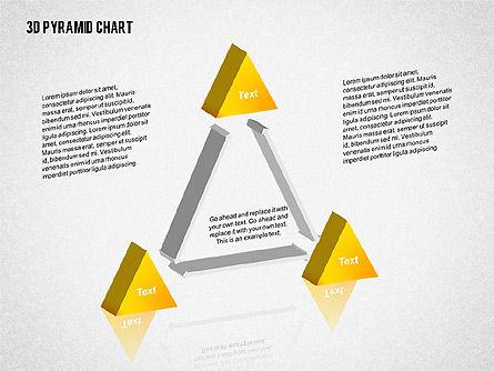 Layered 3D Pyramid, Slide 8, 02203, Business Models — PoweredTemplate.com