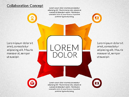 Collaboration Concepts, Slide 4, 02204, Business Models — PoweredTemplate.com