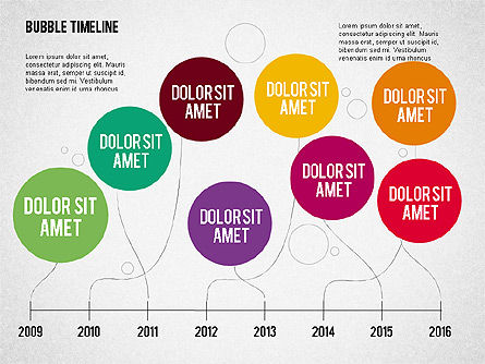 Bubble Timeline Slide 2