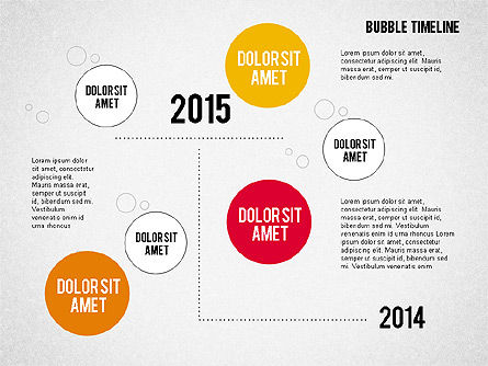 Bubble Timeline Slide 3