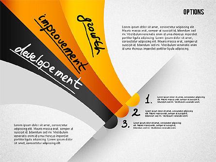 Four Step Tilted Options Banner Slide 3
