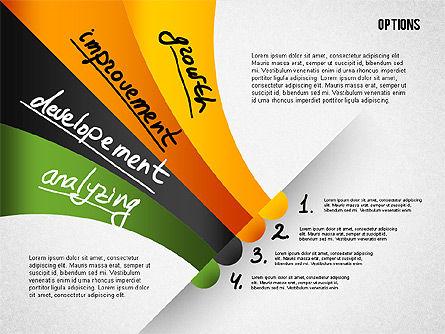 Four Step Tilted Options Banner Slide 4