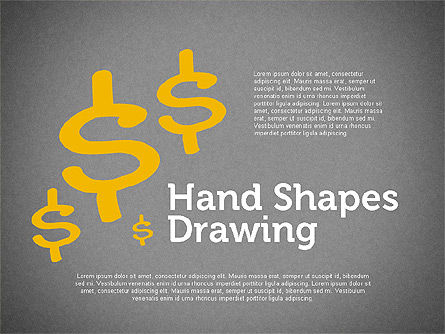 Financial Doodles, Slide 9, 02207, Shapes — PoweredTemplate.com