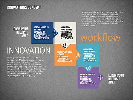 Innovation Concepts Diagram, Slide 10, 02211, Business Models — PoweredTemplate.com