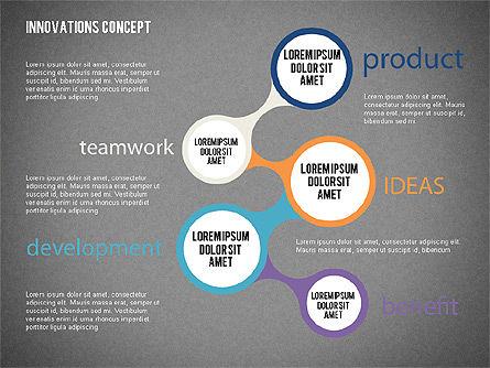 Innovation Concepts Diagram, Slide 13, 02211, Business Models — PoweredTemplate.com