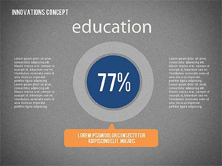 Innovation Concepts Diagram, Slide 15, 02211, Business Models — PoweredTemplate.com