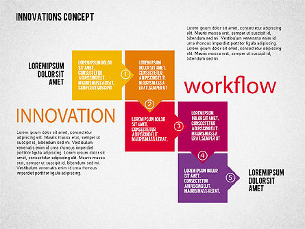 Innovation Concepts Diagram, Slide 2, 02211, Business Models — PoweredTemplate.com