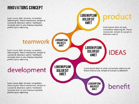 Innovation Concepts Diagram, Slide 5, 02211, Business Models — PoweredTemplate.com