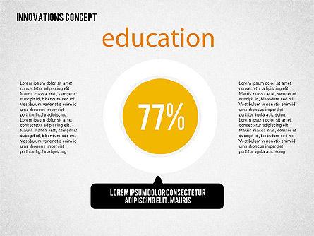 Innovation Concepts Diagram, Slide 7, 02211, Business Models — PoweredTemplate.com