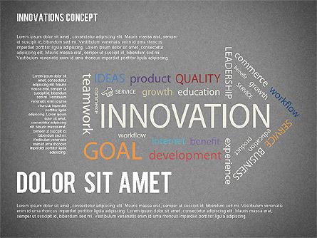 Innovation Concepts Diagram, Slide 9, 02211, Business Models — PoweredTemplate.com