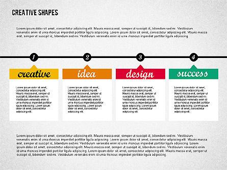 Presentation with Creative Shapes, Slide 2, 02212, Presentation Templates — PoweredTemplate.com