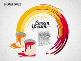 Presentation Templates: Presentation with Creative Shapes #02212
