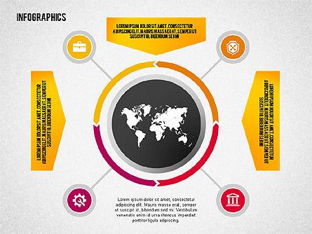 Infographics: Plano de diseño Infográfico con iconos #02218