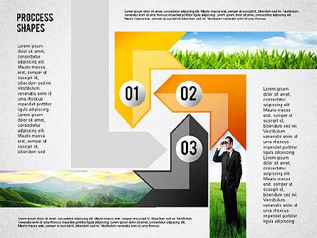 Process Shapes with Photos, Slide 3, 02223, Process Diagrams — PoweredTemplate.com