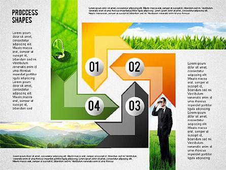 Process Shapes with Photos, Slide 4, 02223, Process Diagrams — PoweredTemplate.com