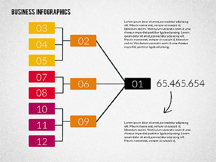 Business Infographics, Slide 4, 02224, Infographics — PoweredTemplate.com