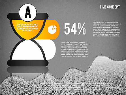 Time Concept Presentation Template, Slide 12, 02225, Presentation Templates — PoweredTemplate.com