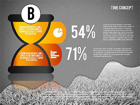 Time Concept Presentation Template, Slide 13, 02225, Presentation Templates — PoweredTemplate.com