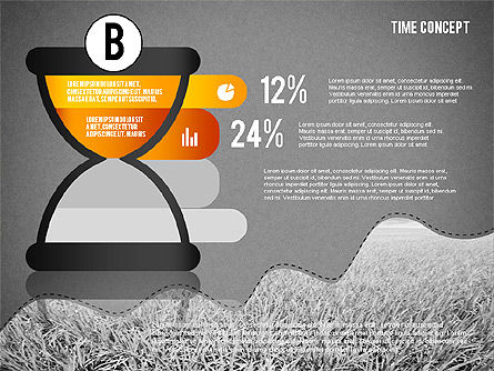 Time Concept Presentation Template, Slide 16, 02225, Presentation Templates — PoweredTemplate.com