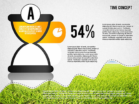 Time Concept Presentation Template, Slide 3, 02225, Presentation Templates — PoweredTemplate.com