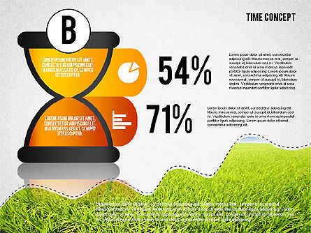 Time Concept Presentation Template, Slide 4, 02225, Presentation Templates — PoweredTemplate.com
