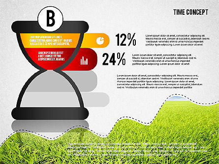 Time Concept Presentation Template, Slide 7, 02225, Presentation Templates — PoweredTemplate.com