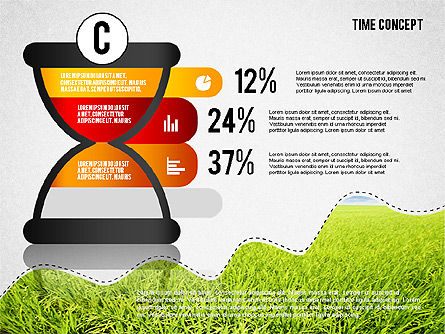 Time Concept Presentation Template, Slide 8, 02225, Presentation Templates — PoweredTemplate.com