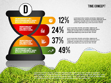Time Concept Presentation Template, Slide 9, 02225, Presentation Templates — PoweredTemplate.com
