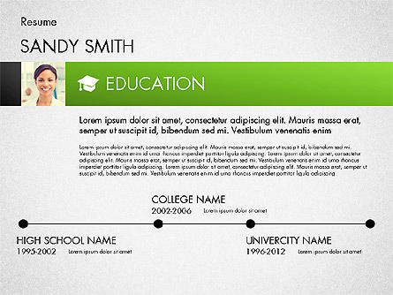 Modern Resume Template For Powerpoint Presentations Download Now