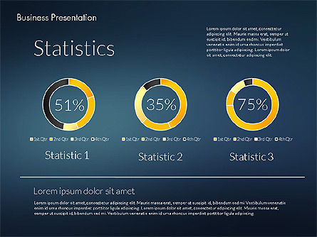 Modern Business Presentation Template, Slide 10, 02228, Presentation Templates — PoweredTemplate.com