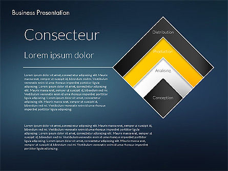 Modern Business Presentation Template, Slide 12, 02228, Presentation Templates — PoweredTemplate.com