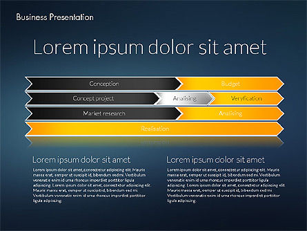 Modern Business Presentation Template, Slide 13, 02228, Presentation Templates — PoweredTemplate.com
