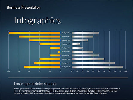 Modern Business Presentation Template, Slide 14, 02228, Presentation Templates — PoweredTemplate.com