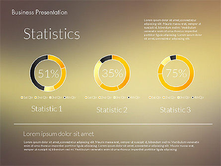 Modern Business Presentation Template, Slide 2, 02228, Presentation Templates — PoweredTemplate.com