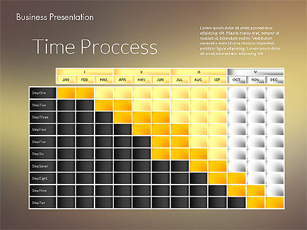 Modern Business Presentation Template, Slide 3, 02228, Presentation Templates — PoweredTemplate.com