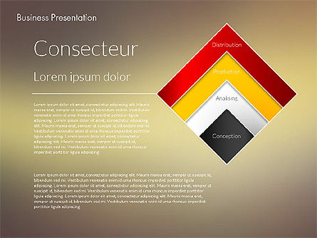 Modern Business Presentation Template, Slide 4, 02228, Presentation Templates — PoweredTemplate.com