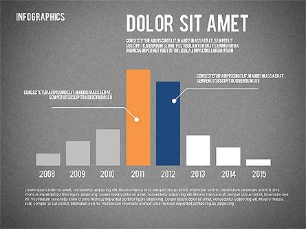 Report with Infographics, Slide 10, 02231, Infographics — PoweredTemplate.com