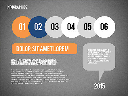 Report with Infographics, Slide 12, 02231, Infographics — PoweredTemplate.com