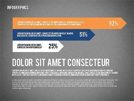 Report with Infographics, Slide 14, 02231, Infographics — PoweredTemplate.com