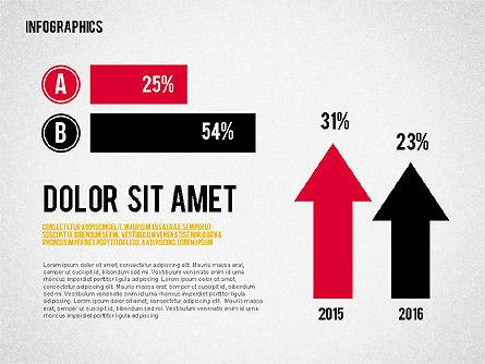Report with Infographics, Slide 5, 02231, Infographics — PoweredTemplate.com