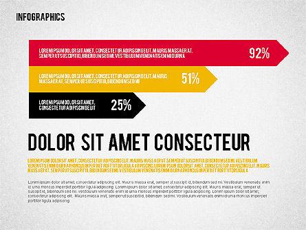 Report with Infographics, Slide 6, 02231, Infographics — PoweredTemplate.com