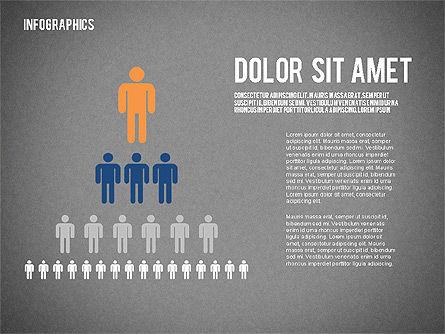 Report with Infographics, Slide 9, 02231, Infographics — PoweredTemplate.com