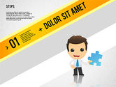 Business Models: Options Banner with Character #02232