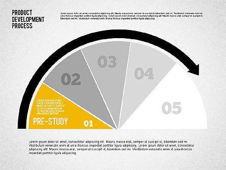 Product Development Process with Gauge, Slide 4, 02233, Business Models — PoweredTemplate.com